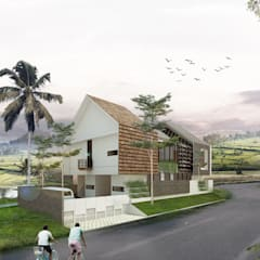 HAMUR AGIT ASAR :  Rumah by midun and partners architect