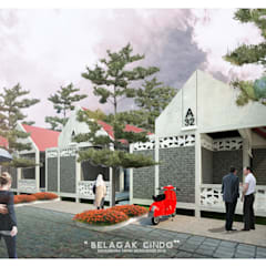 BELAGAK CINDO HOUSE Rumah Modern Oleh midun and partners architect Modern