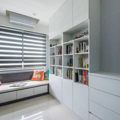 اتاق کودک توسط富亞室內裝修設計工程有限公司, مینیمالیستیک ام دی اف