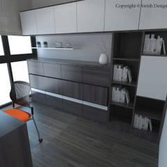 Symphony Suites:  Small bedroom by Swish Design Works,Scandinavian