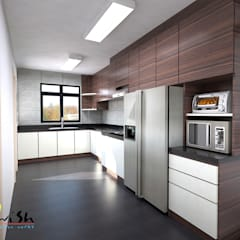 Balam Road:  Built-in kitchens by Swish Design Works,Classic