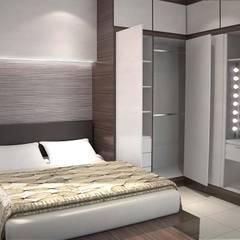 Yishun Ring Road:  Small bedroom by Swish Design Works