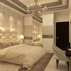 HAUZ KHAS HOUSE PROJECT BY MAD DESIGN:  Bedroom by MAD Design