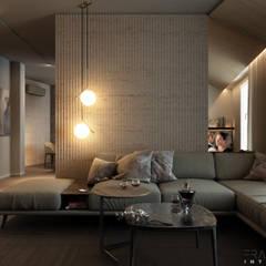 GIOVANNA APARTMENT: Soggiorno in stile  di FRANCESCO CARDANO Interior designer