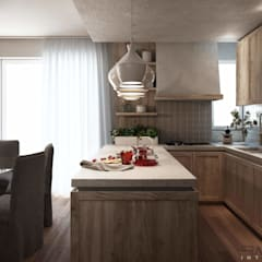 آشپزخانه by FRANCESCO CARDANO Interior designer