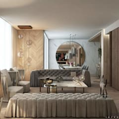 اتاق نشیمن by FRANCESCO CARDANO Interior designer