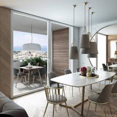 Comedores de estilo  por FRANCESCO CARDANO Interior designer