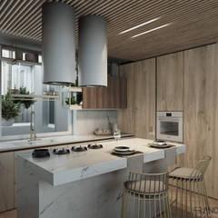 GIULIETTA APARTMENT: Cucina in stile  di FRANCESCO CARDANO Interior designer