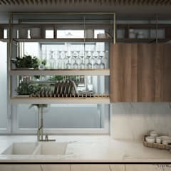 مطبخ تنفيذ FRANCESCO CARDANO Interior designer