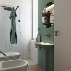 GIULIETTA APARTMENT: Bagno in stile  di FRANCESCO CARDANO Interior designer