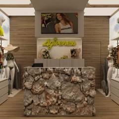 Oficinas y Tiendas de estilo  por FRANCESCO CARDANO Interior designer