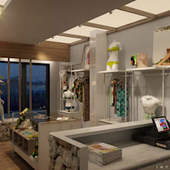 อาคารสำนักงาน ร้านค้า by FRANCESCO CARDANO Interior designer