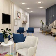 BACK2BALANCE Clínicas modernas por Mónica Zagalo Interior Design Moderno
