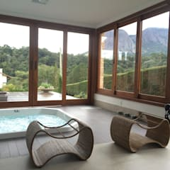 Hot tubs by Carlos Eduardo de Lacerda Arquitetura e Planejamento