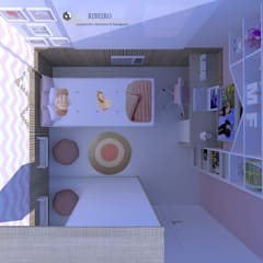 Girls Bedroom by Bel Ribeiro - Arquitetura, Interiores & Paisagismo