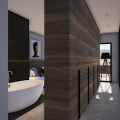 Dressing room by Franck VADOT Architecture,