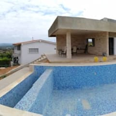 CASA MP: Casas de estilo  por GMS ARQUITECTOS, C.A.