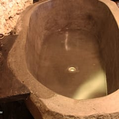 Natural Stone Bathtub - Stone bathtubs Indonesia.:  Bathroom by Lux4home™ Indonesia