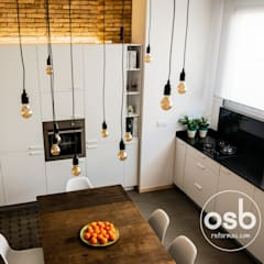 Dining room by osb reformas