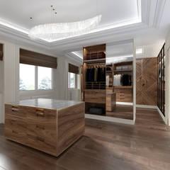 Дом в Немчиновке: Гардеробные в . Автор – Ambient3d