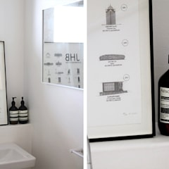 Westcliff Renovation & furniture, JHB:  Bathroom by Metaphor Design