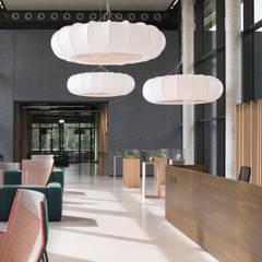 Verwaltungsgebäude Bender GmbH & CoKG:  Geschäftsräume & Stores von SISAFORM