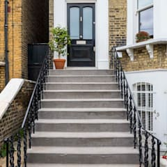 Metal Railings for London Home:  Houses by British Spirals & Castings, Classic