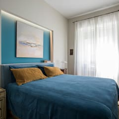 Bedroom by studioQ, Asian