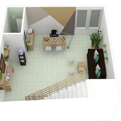 مكتب عمل أو دراسة تنفيذ Decó ambientes a la medida