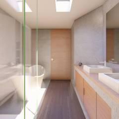 ARAKAN: Baños de estilo  por GRUPO VOLTA,