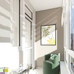 Небо и мечты: балконы в . Автор – Мастерская интерьера Юлии Шевелевой
