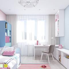 Dormitorios infantiles de estilo  por Мастерская интерьера Юлии Шевелевой
