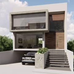 บ้านขนาดเล็ก by SA'D ARQUITECTOS