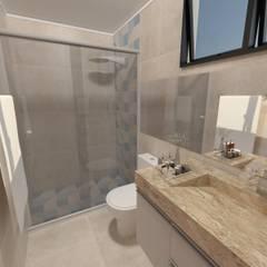 Bathroom by Taís Fernández - Designer de Interiores,