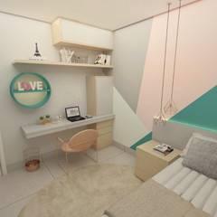 Small bedroom by Taís Fernández - Designer de Interiores