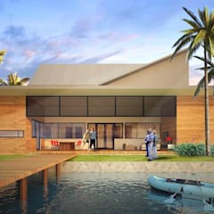 YK HOUSE: Rumah oleh midun and partners architect,