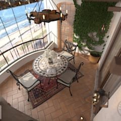 Balkon door Orkun BULUT , Mediterraan Keramiek
