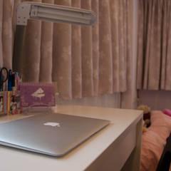 美式風格:  嬰兒房/兒童房 by 大觀創境空間設計事務所