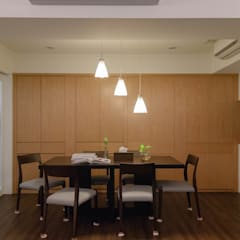 Dining room by 大觀創境空間設計事務所