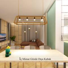 GO Design İç Mimarlık – İ.C.Ç. EVİ PROJESİ:  tarz Yemek Odası