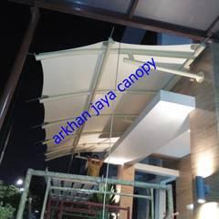 jasa pembuatan tenda membrane: Atap oleh arkhan jaya, Modern