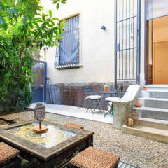 Jardines zen de estilo  por Fabio Carria