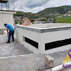 Atap oleh Aurion Diseño y Construcción, Rustic