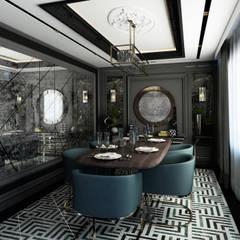 Yavuz Girgin İçmimarlık – Y. Evi:  tarz Yemek Odası