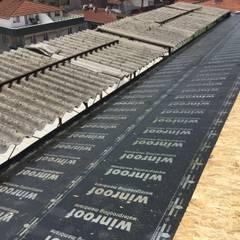 Milana Tadilat Dekorasyon – Nevzat Bey İş Merkezi / Çatı İzolasyon/Maltepe:  tarz Düz çatı,