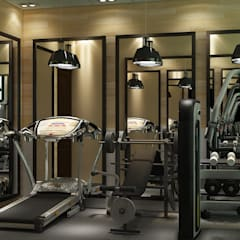 Gym by MAD Design, Rustic
