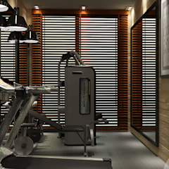 Ruang Fitness by MAD Design