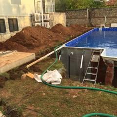 Milana Tadilat Dekor – Mehmet AYDEMİR/Villa ve Havuz İnşaatı/Fethiye:  tarz Bahçe havuzu