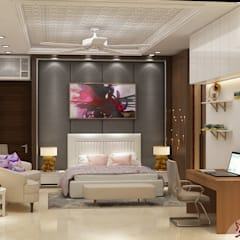 Independent House Project by MAD DESIGN:  Bedroom by MAD Design
