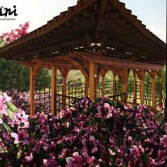 PIXANI STUDIOS – CHINESE PERGOLA:  tarz Bahçe